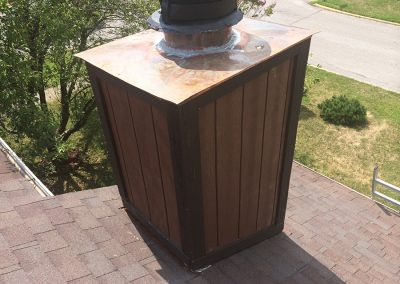 Odessa Roofing Chimney Chase