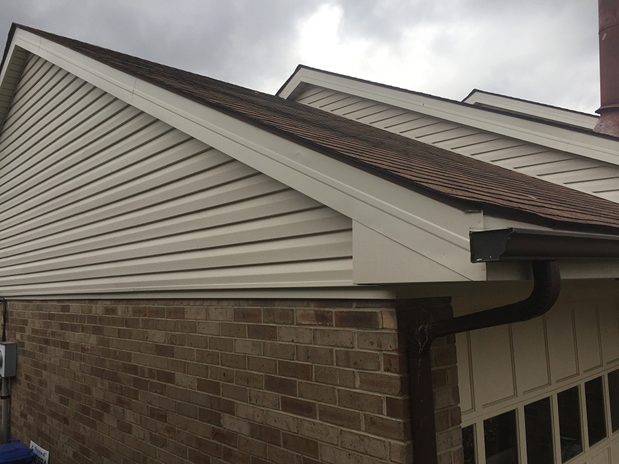 Soffit Wrap Odessa Roofing
