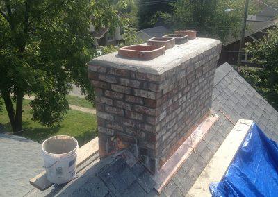 Odessa Roofs Chimney Rebuild